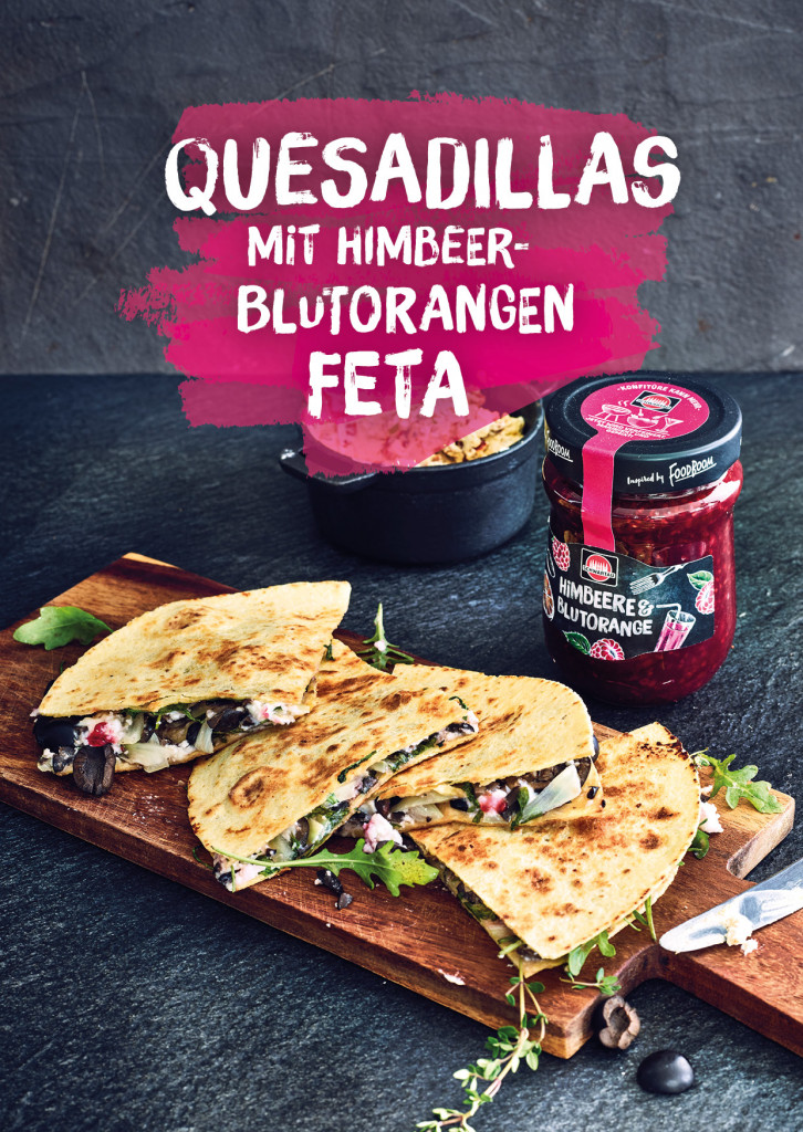 Quesadillas Rezept Cover| Grafik Design Freelancer Berlin