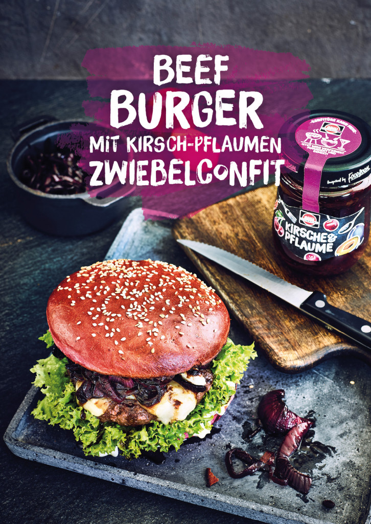 Schwartau Postkarten, Design und Layout Burger Rezept Cover| Grafik Design Freelancer Berlin