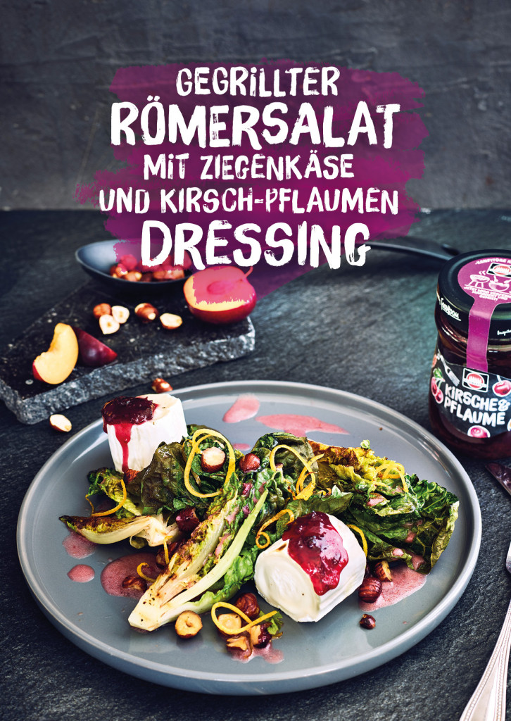 Schwartau Postkarten, Design und Layout Salat Rezept Cover| Grafik Design Freelancer Berlin