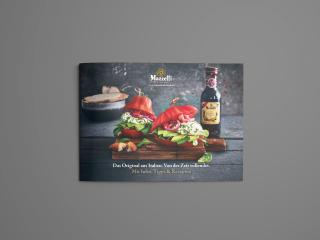 Layout und Design der Mazzetti Broschüre