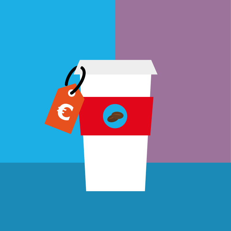 Kaffee Illustration, Animation, Erklärvideo, Motion Design | CC Buchner