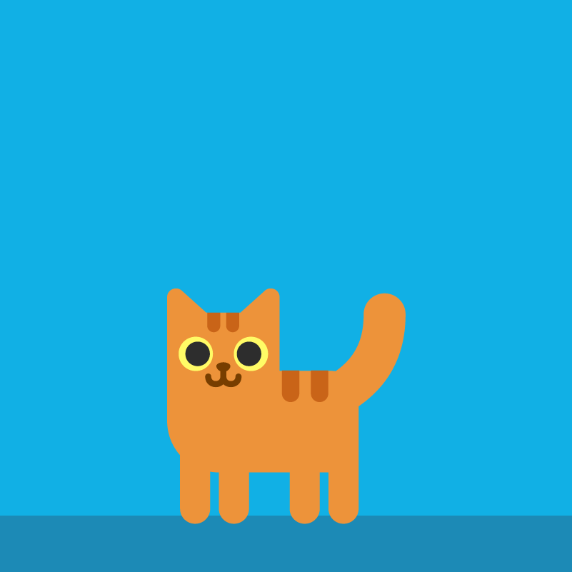 Katze Illustration, Animation, Erklärvideo, Motion Design | CC Buchner
