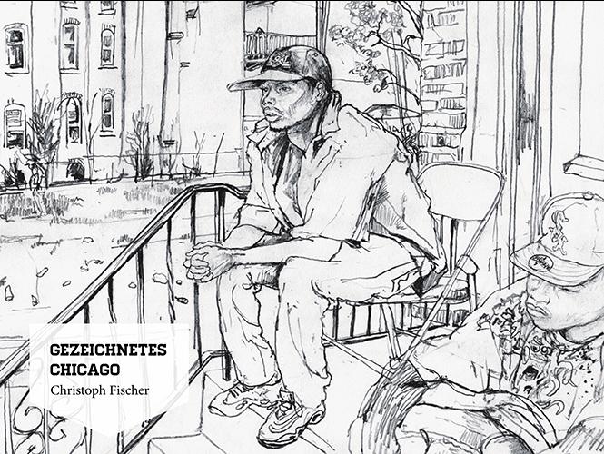 Layout interaktives iPad Magazin Cover Chicago | Grafik Design Freelancer Berlin