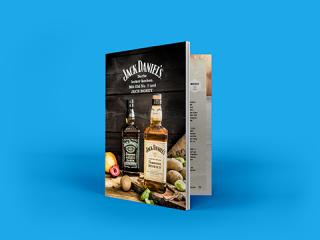 Jack Daniel's Broschüren