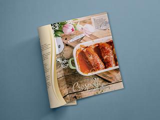 Layout und Design der Lacroix Broschüre