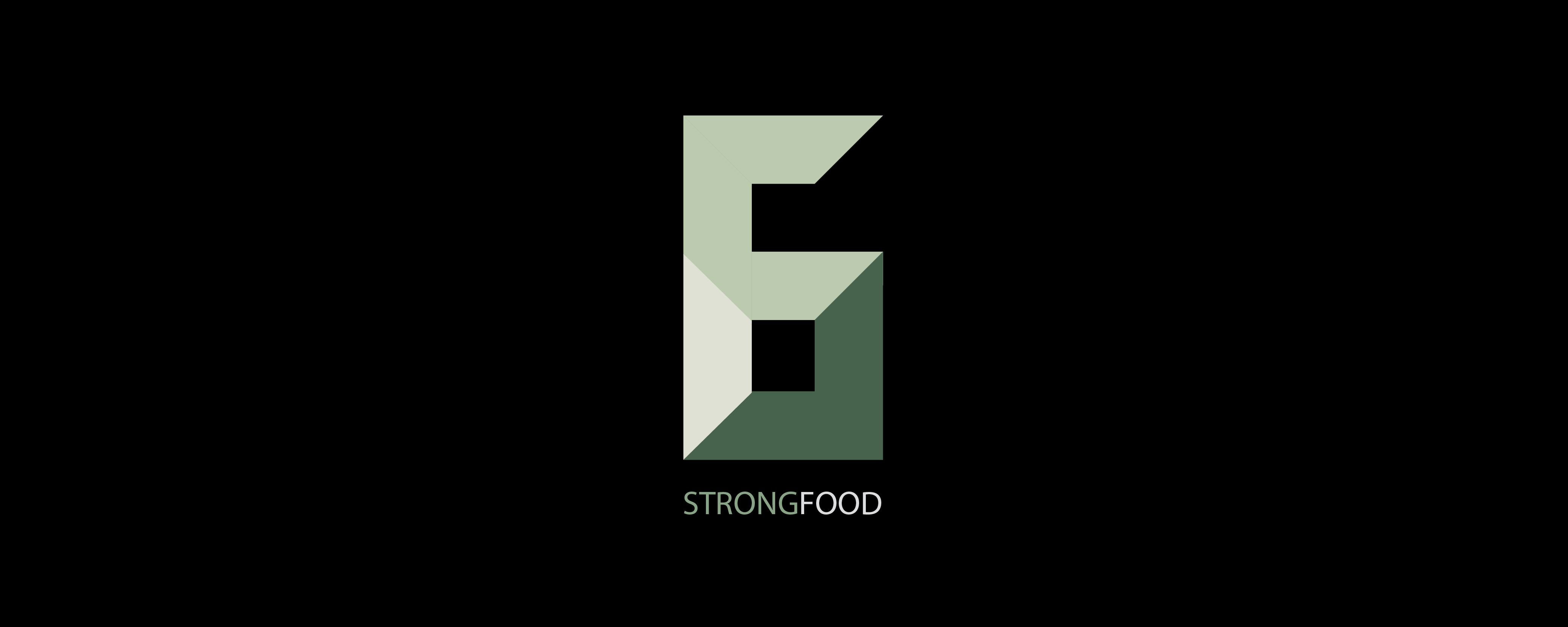 Logo Design Strong Food, Branding, Freelance Grafik Designer Berlin