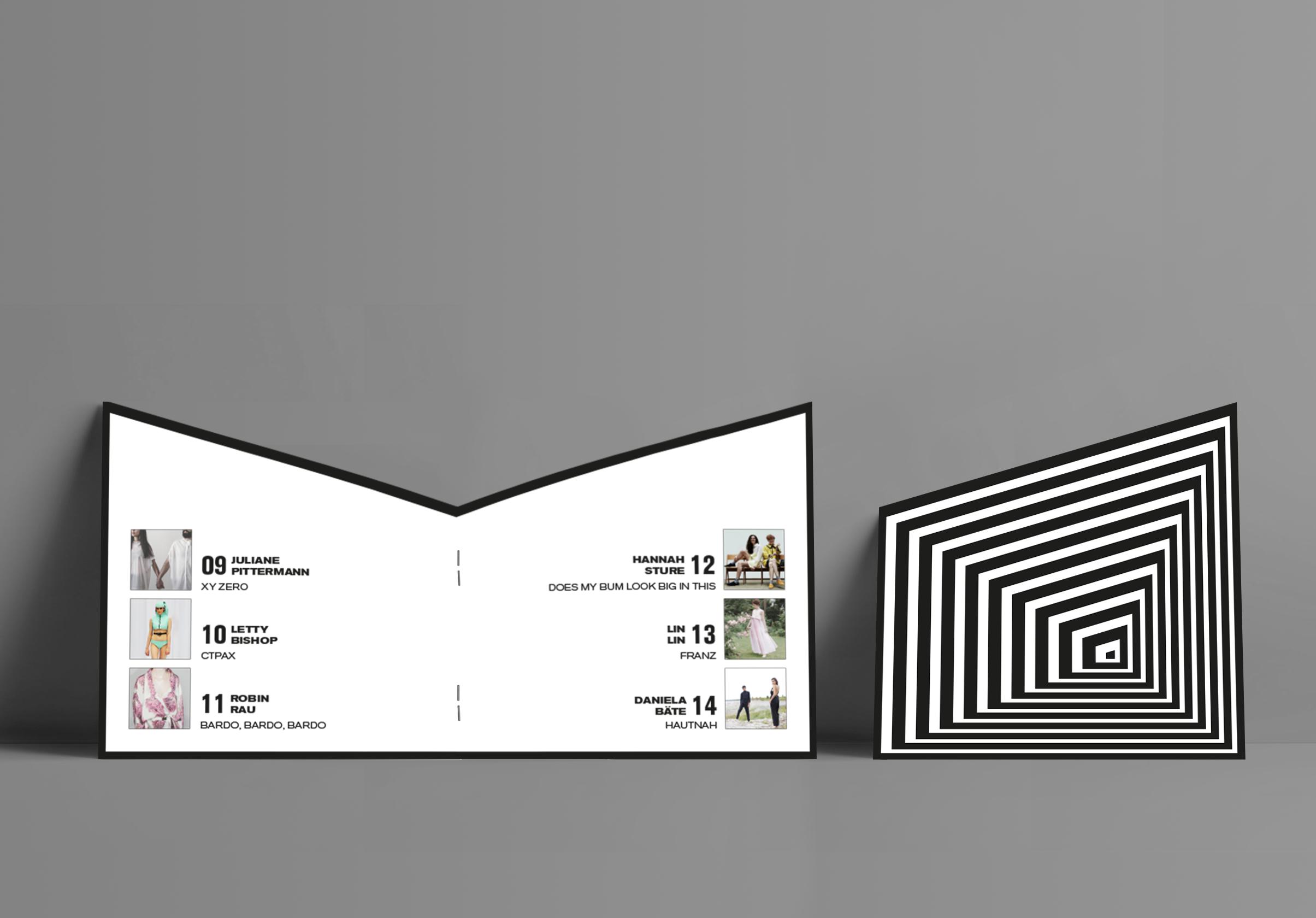 Corporate Design, Brandig, Event Design, Modepreis Hannover Booklet | Freelancer Grafik Design Berlin
