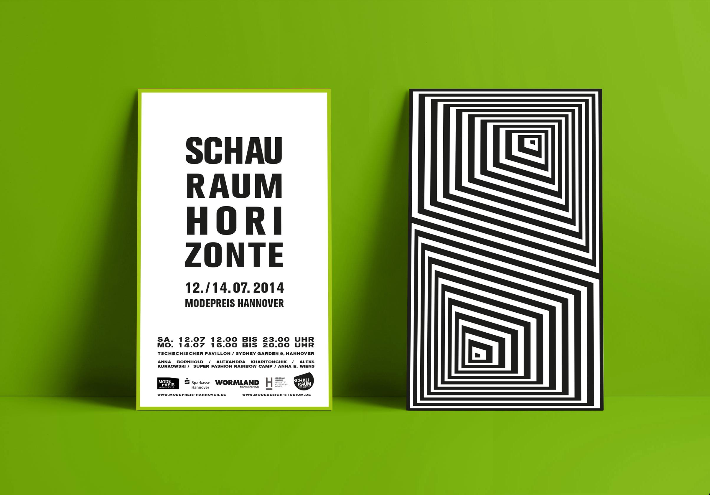 Corporate Design, Brandig, Event Design, Modepreis Hannover Plakat | Freelancer Grafik Design Berlin