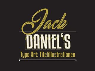 Typografie Jack Daniel's