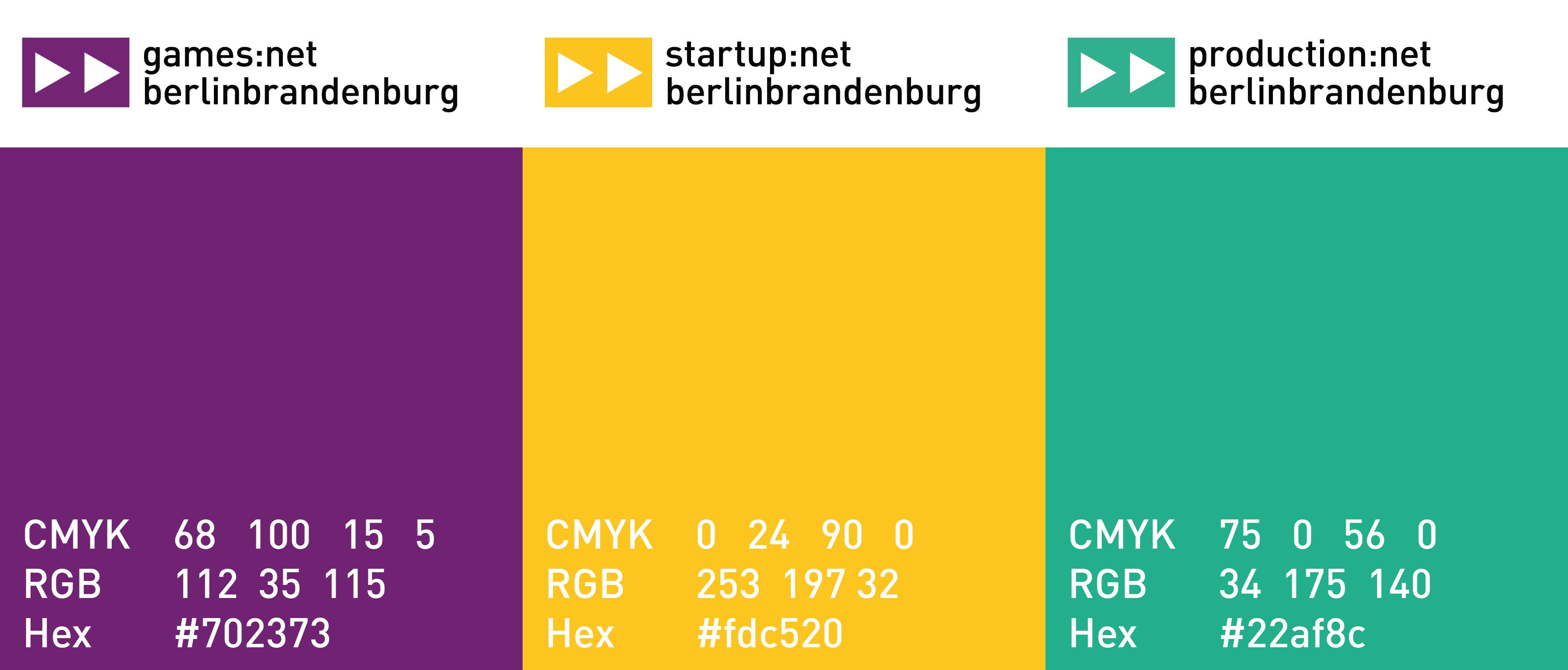 Farben Initiativen media:net bb coroporte redesign