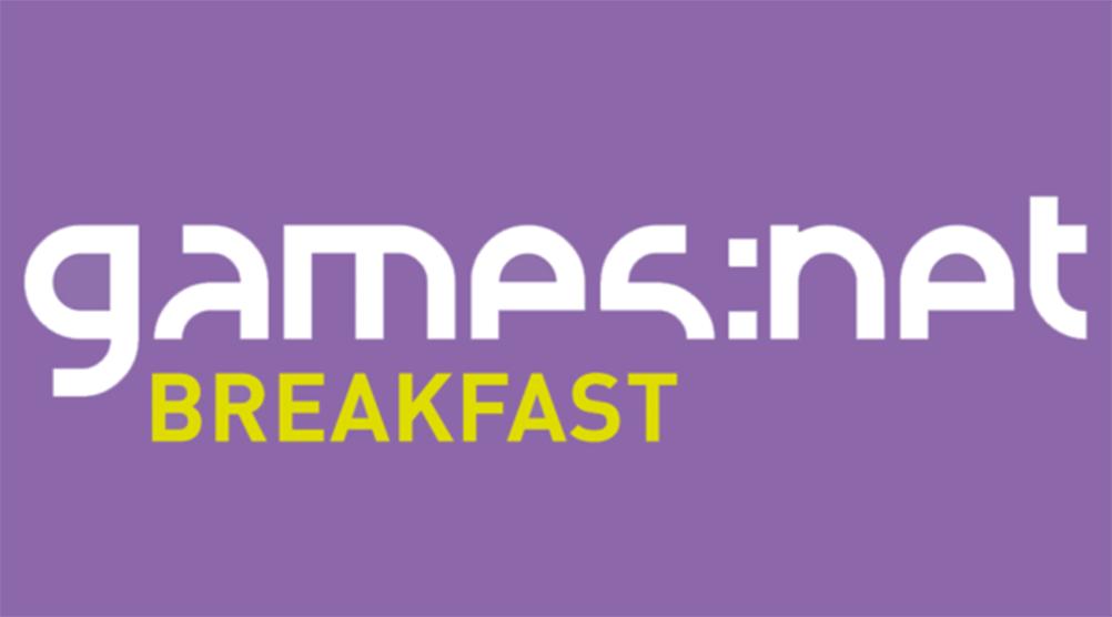 Old Event Logo Breakfast - games net Berlinbrandenburg
