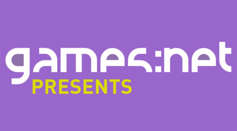 Old Event Logo Presents - games net Berlinbrandenburg