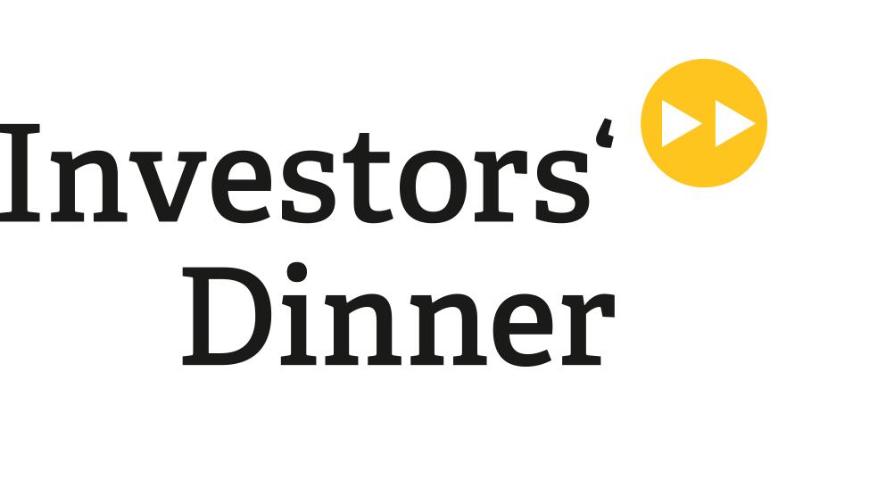 Redesign Event Logo Investor - startup net Berlinbrandenburg